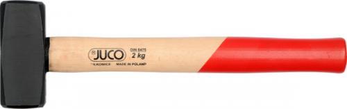 JUCO Młotek kamieniarski rączka drewniana 1kg 360mm (32200)