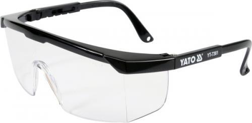 Yato Okulary ochronne bezbarwne 9844 (YT-7361)