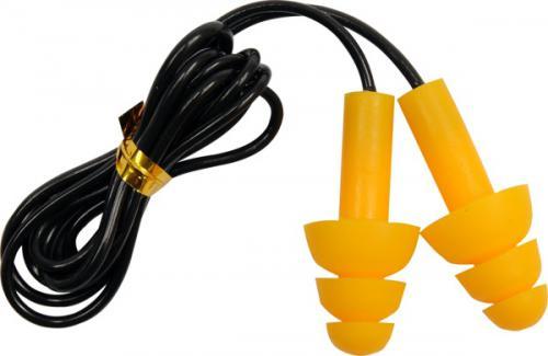 Yato Zatyczki do uszu silikonowe 8-12mm ze sznurkiem 22dB opk. 50 par (YT-7456)