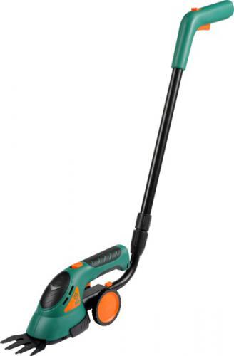 FLO Nożyce akumulatorowe 3,6v, na kółkach, do trawy i żywopłotu 3.6V Li-Ion (79501)