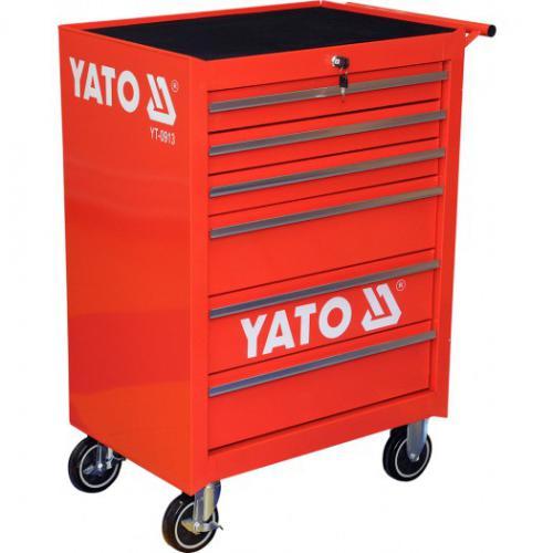 Wózek narzędziowy Yato 6 szuflad (YT-0913)
