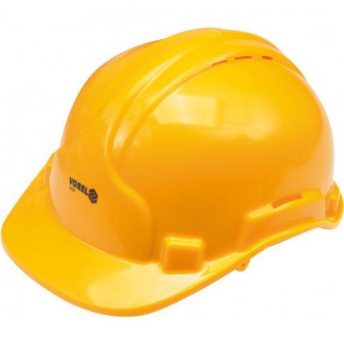 Vorel Kask ochronny 50-66cm żółty 74193