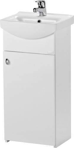 Cersanit Szafka podumywalkowa Bianco 37cm biały połysk (S509-037-DSM)
