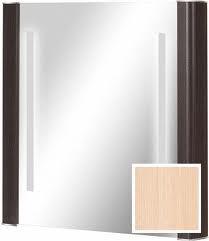 Lustro Cersanit Iryda 55,5x61,8cm dąb mleczny (S511-014)