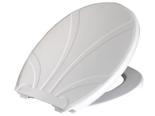 Deska sedesowa Bisk Lotos biała (80102)