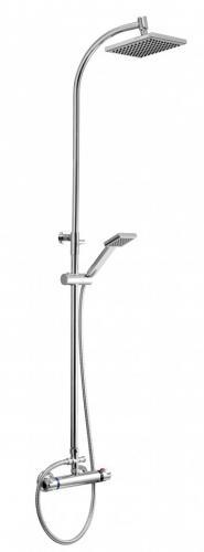 Zestaw prysznicowy KFA Orion z deszczownicą z baterią termostatyczną chrom (5706-911-00)