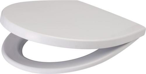 Deska sedesowa Cersanit Delfi wolnoopadająca biała (K98-0073)