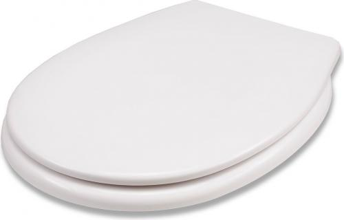 Deska sedesowa Fala Uniwersalna wolnoopadająca biała (75470)