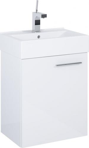 Zestaw szafka z umywalką Elita Tiny 44cm biały połysk (165072)