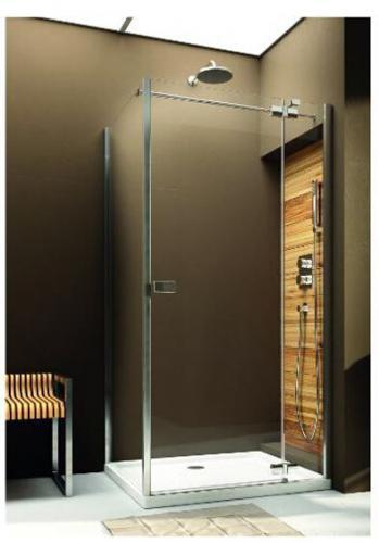 Aquaform Drzwi prysznicowe VERRA LINE uchylne prawe 90x190cm chrom + szkło 103-09335