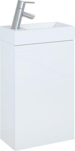 Zestaw szafka z umywalką Elita Young Basic 40cm biały (163068)