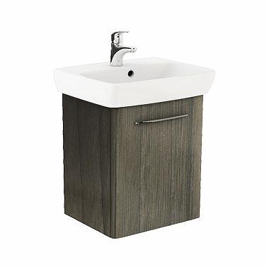 Zestaw szafka z umywalką Koło Nova Pro 46,4cm jesion szary (M39011000)