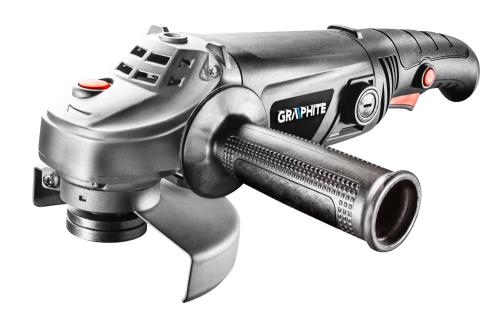 GRAPHITE Szlifierka kątowa 1200W 125x22.2mm (59G098)