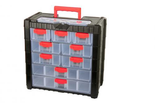 Proline Organizer z rączką 22 przegrody 392x200x400mm - 35743