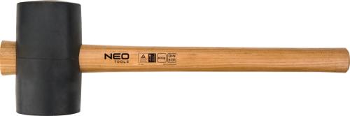 NEO Młotek gumowy rączka drewniana 1,2kg 380mm (25-054)