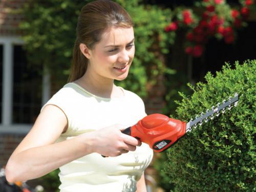 Black&Decker Nożyce ogrodowe GSL 300 do żywopłotu (GSL300)