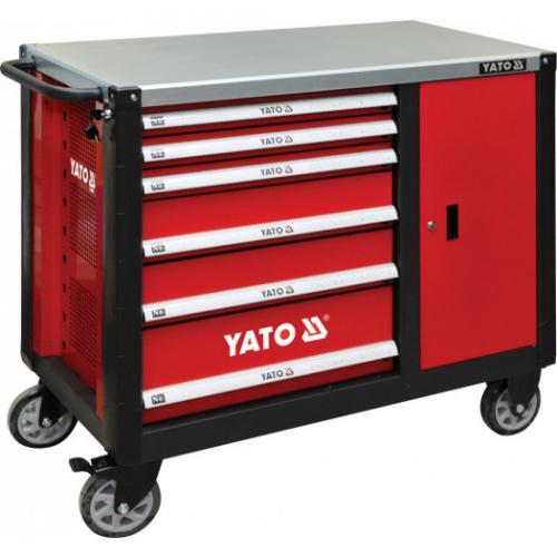 Wózek narzędziowy Yato 6 szuflad (YT-09002)