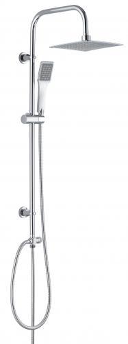 Zestaw prysznicowy Deante Neo Vero z deszczownicą chrom (NBV 051K)
