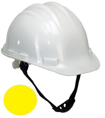Lahti Pro Kask ochronny przemysłowy II kategorii żółty L1040102