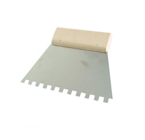 MEGA Szpachla nierdzewna 180mm ząb 10x10mm 61788