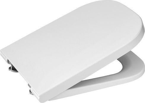 Deska sedesowa ROCA Gap wolnoopadająca biała (A80148200U)