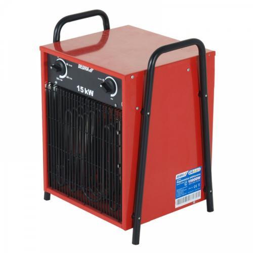 Dedra Nagrzewnica elektryczna 5/10/15kW 400V termostat funkcja wentylator (DED9925)