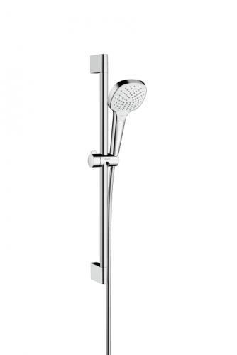 Zestaw prysznicowy Hansgrohe Croma Select E przesuwny biały (26582400)