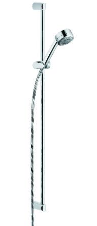 Zestaw prysznicowy KLUDI Zenta przesuwny chrom (6074005-00)