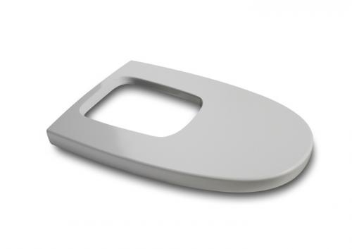 Deska bidetowa ROCA Khroma wolnoopadająca silver gray (A806652F1T)
