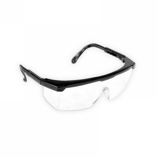Dedra Okulary ochronne poliwęglan regulowane zauszniki do szlifowania (BH1051)