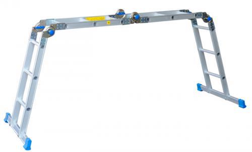 Drabex Drabina aluminiowa uniwersalna 364cm 4x3 szczeble (6001)