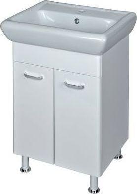 Zestaw szafka z umywalką Cersanit Alpina 39cm biały (S802-001-DSM)