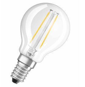 Osram Żarówka LED RETROFIT CLASSIC P 24 2W/827  E14 FIL - 4052899936447