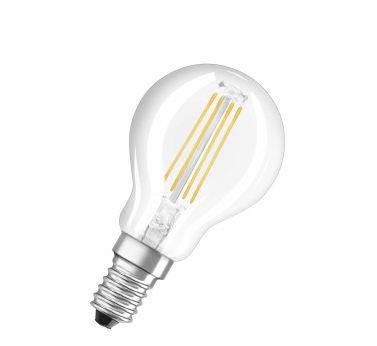 Osram Żarówka LED RETROFIT CLASSIC P 37 4W/827 E14 FIL - 4052899941670