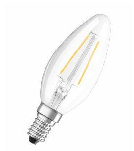 Osram Żarówka LED RETROFIT CLASSIC B 23 2W/827  E14 FIL - 4052899936416