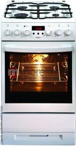 Amica 52GE3 43ZpTa (W) Eco w Morele net -> Kuchnia Gazowo Elektryczna Ravanson Opinie