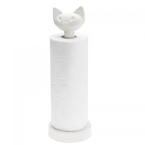 Koziol Stojak na ręczniki MIAOU papierowe biały