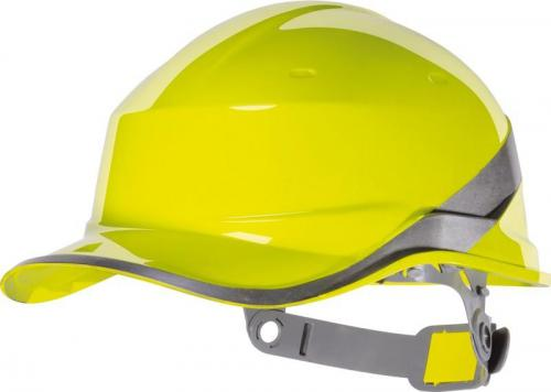 DELTA PLUS Hełm budowlany Diamond V ABS żółty izolacja elektryczna (DIAM5JAFL)