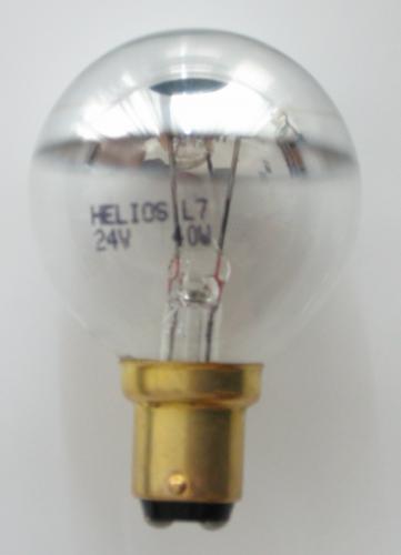 Helios Żarówka bezcieniowa Ba15d 40W 24V (BEZ-0668)