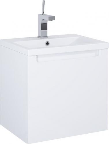 Zestaw szafka z umywalką Elita Serenity 50cm biały połysk (165849)