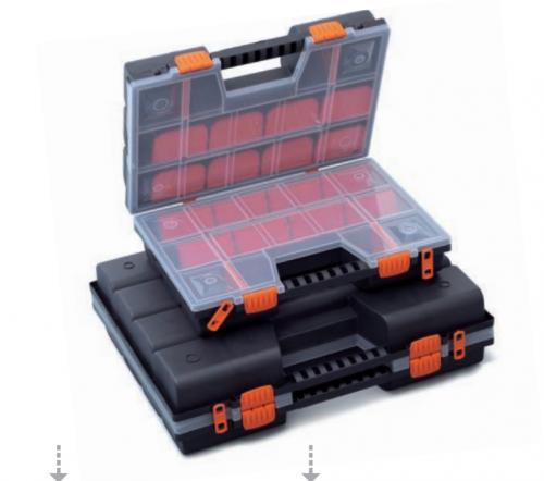 Prosperplast Organizer narzędziowy NorDuo 390 x 290 x 130mm (NOR16DUO)