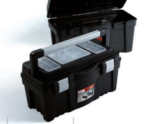 Prosperplast Skrzynka Viper z organizerem 398 x 200 x 186mm (N15A)