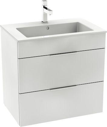 Zestaw szafka z umywalką ROCA Suit 64cm biały połysk (A851180806)