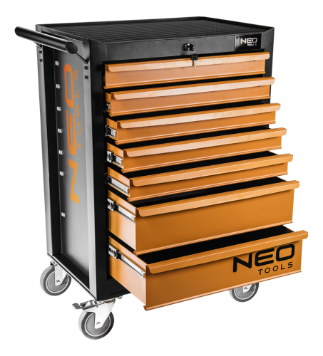 Wózek narzędziowy NEO 7 szuflad (84-222)