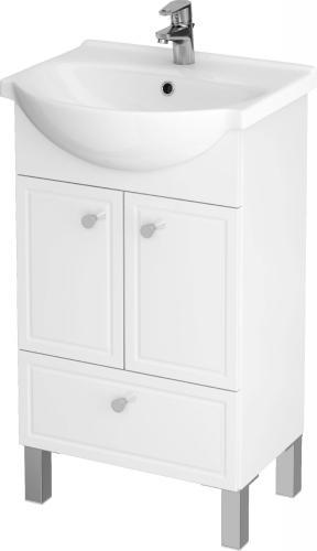 Zestaw szafka z umywalką Cersanit Sido 49,5cm biały (S801-081-DSM)