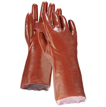 Rękawice PCV długie 45cm (R42145)