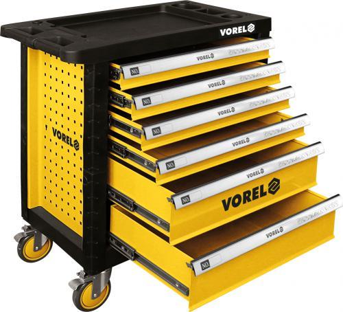 Wózek narzędziowy Vorel 6 szuflad (58539)