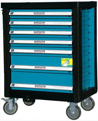 Wózek narzędziowy KUPCZYK 7 szuflad (TOOLCARSOLON)