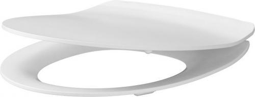 Deska sedesowa Cersanit Delfi Slim wolnoopadająca biała (K98-0138)