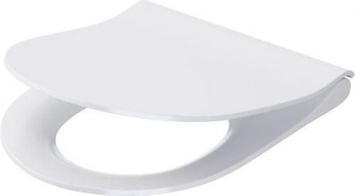 Deska sedesowa Cersanit City Oval Slim wolnoopadająca biała (K98-0146)